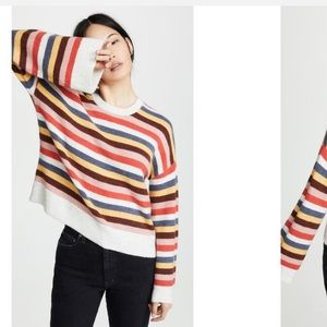 Madewell // Women's Striped Cardiff Sweater